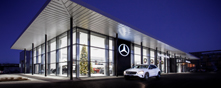 MSL Grange Motors Mercedes-Benz premises