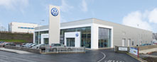 Blackwater Motors Fermoy (Main Volkswagen Dealer) premises