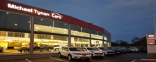 Michael Tynan Cars premises