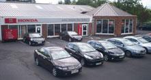 John Adams Car Sales premises