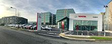 Toyota Sandyford premises