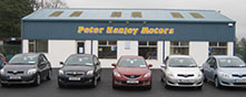 Peter Hanley Motors Limited premises