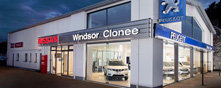 Windsor Clonee Nissan & Peugeot premises