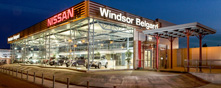 Windsor Belgard Nissan premises