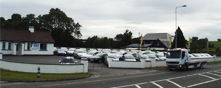 Gallagher Cars Carrick on Shannon premises