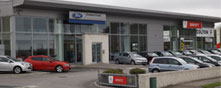 Colton Motors Mullingar premises