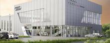 Audi Centre premises