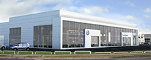 Frank Keane Volkswagen premises