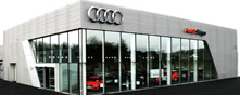 Audi Sligo Audi Approved Plus premises
