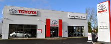 Crossings Motor Centre Toyota premises